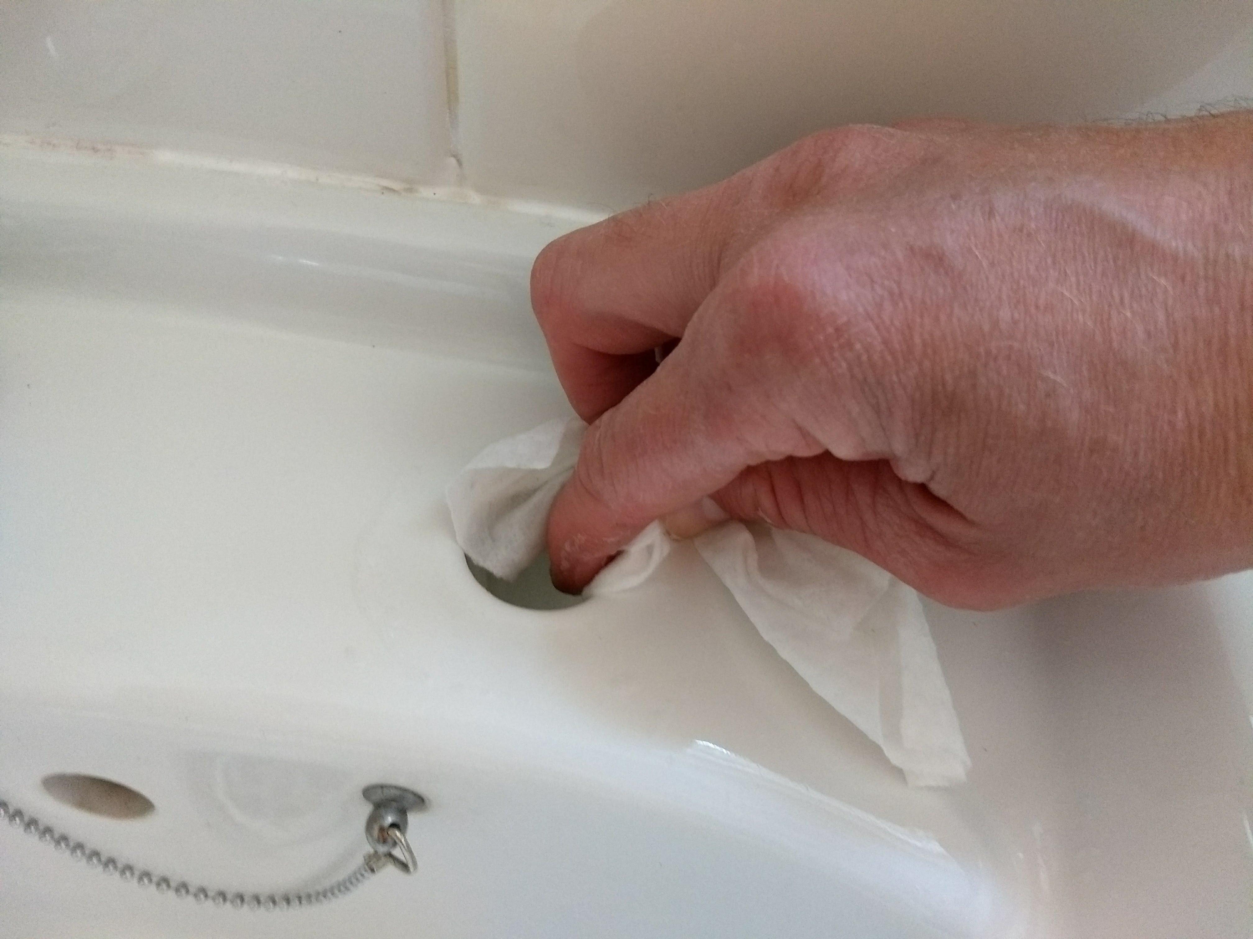 Changing bathroom taps – Little Garage Workshop